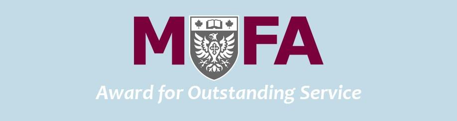 MUFA Awards Banner